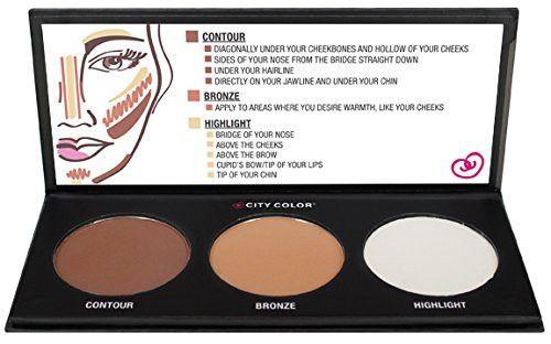 Contour Powder Make-up Kit - GoGetGlam  - 1