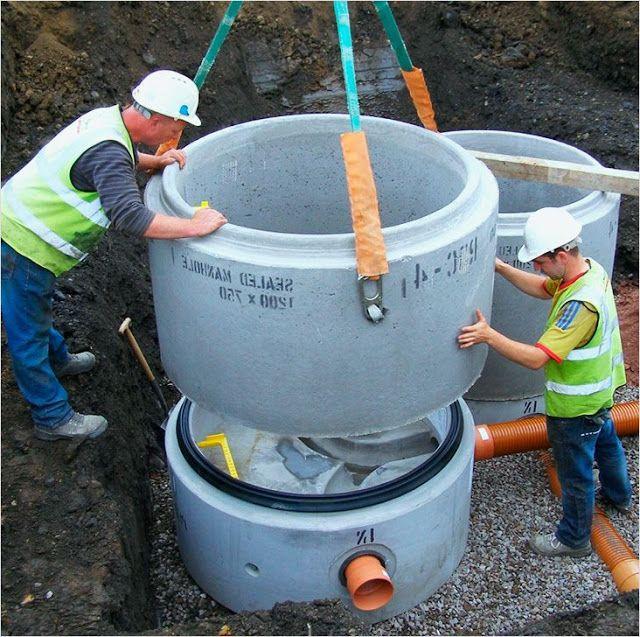 бетонные колодцы для канализации