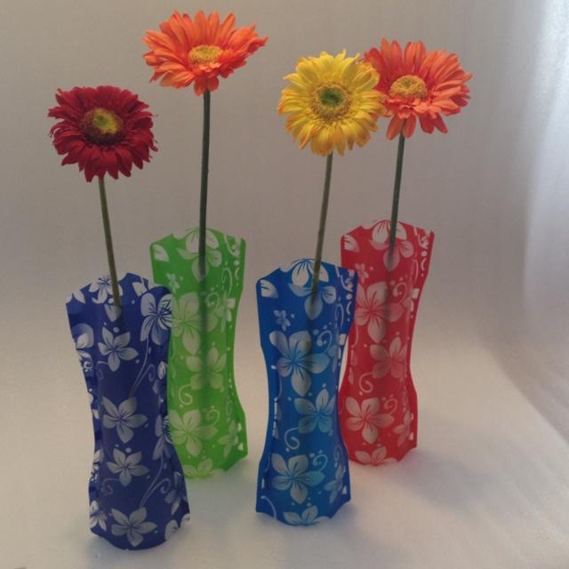 Foldable vases.  www.vouwvazen.nl
