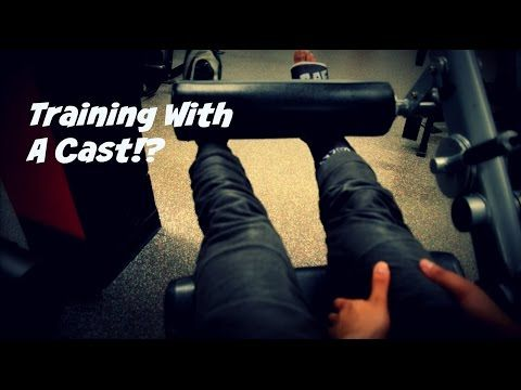 Training With A Cast | What Happened | Road To Recovery - YouTube