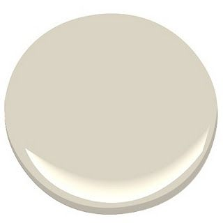Color- Elephant Tusk by Benjamin Moore. It's a luscious dark cream. Absolutely love this color. 9/10/12
