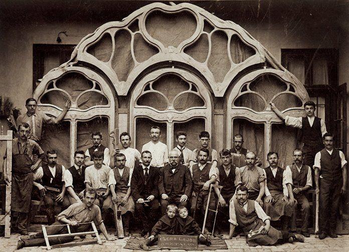 Asztalosok 1900