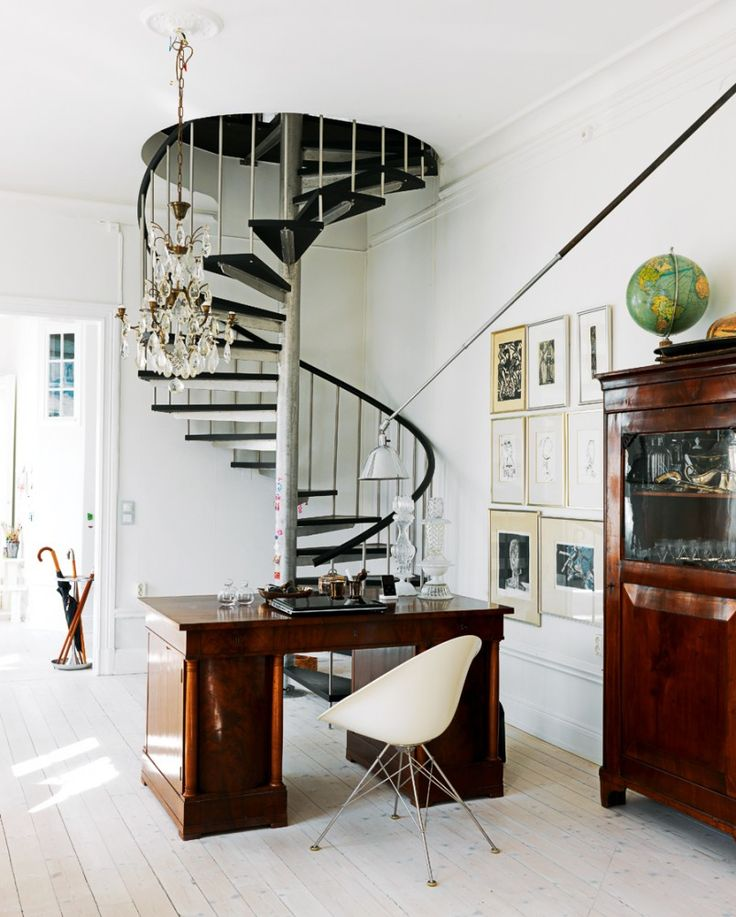 Best 16 Elegant Modern Spiral Stairs Design Ideas That Will Fit 640 x 480
