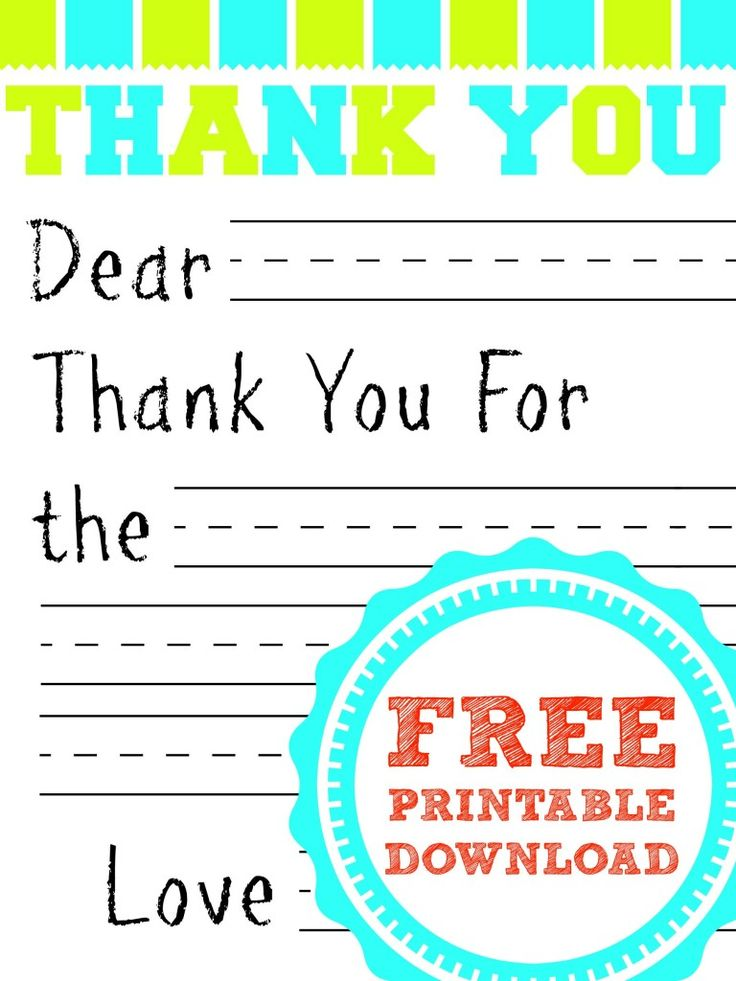 25 best ideas about Thank you card template – Thank You Card Templates Free Download