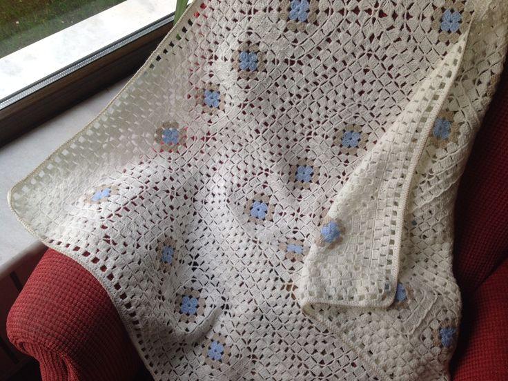 Cevahir's baby Afgan crochet blanket