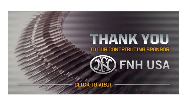 We're a proud sponsor of NRA Life of Duty Frontlines. If you are active duty military or law enforcement, pay them a visit for your free 1 year membership and exclusive deals. www.nralifeofduty.tv