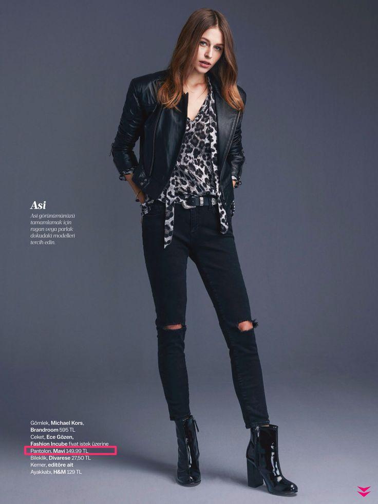 stilin ASİ GÖRÜNÜM ise MAVİ Pantolon 149,99 TL #MaviKASABAda @allmagazine #moda #sonbahar #yırtıkjean