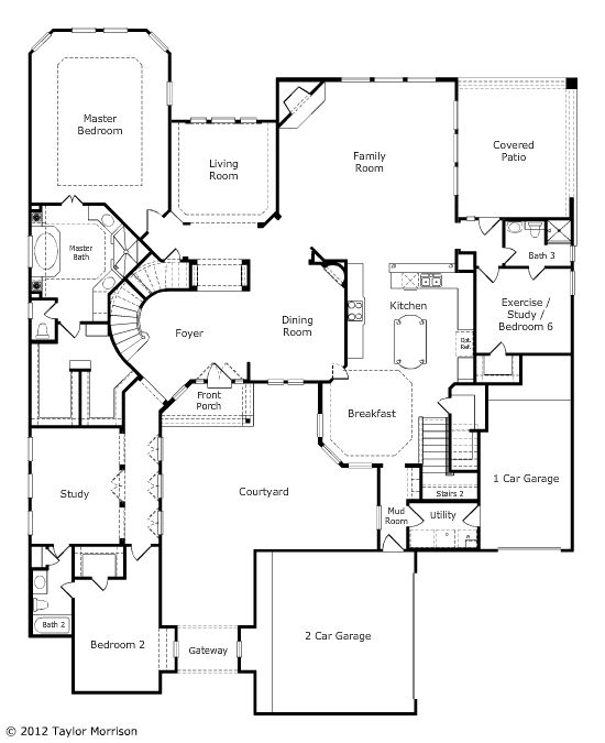 First floor wouldn 39 t necessarily need a second floor for 10 shelford floor plan