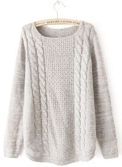 Isabella Sweater - White