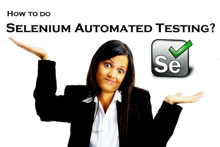 how to learn selenium testing tool