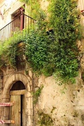 Old house in Ibla Sicily