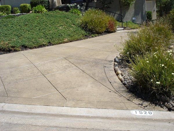 Stamped Concrete Expansion Joints : Best stamped concrete driveways images on pinterest