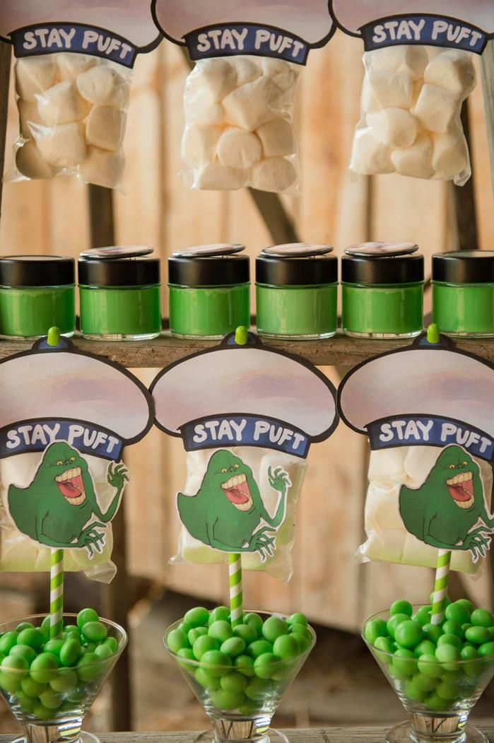 Ghostbusters Halloween Party with Awesome Ideas via Kara's Party Ideas | KarasPartyIdeas.com #HalloweenParty #Party #Ideas #Supplies (11)