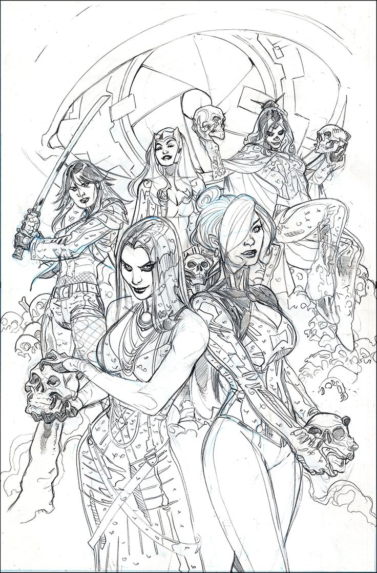 X-MEN #11 Cover Pencils by TerryDodson.deviantart.com on @deviantART