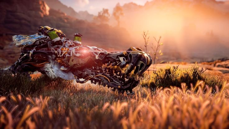 David Attenborough narrates Aloy as She Hunts in the Wilderness of Horizon: Zero Dawn #Playstation4 #PS4 #Sony #videogames #playstation #gamer #games #gaming