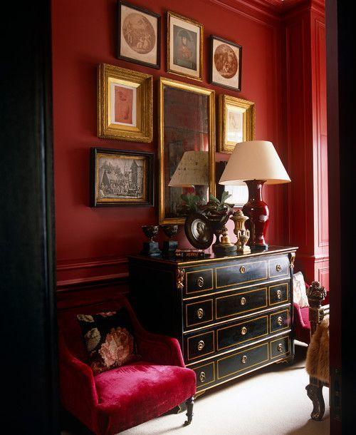 georgianadesign: Belgravia apartment, UK. Paolo Moschino for Nicholas Haslam Ltd.