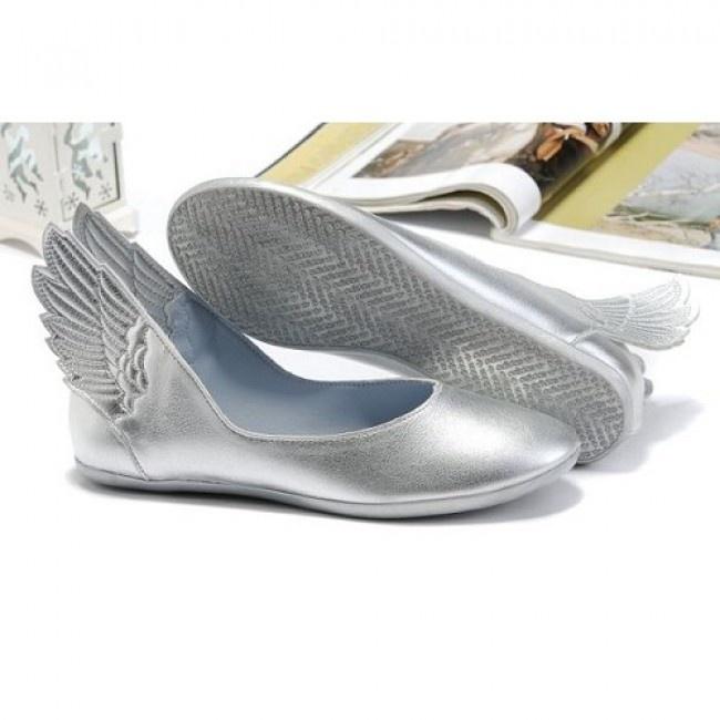 Femmes Adidas Originals Jeremy Scott Wings Ballerina Argentée Chaussures €53.71 http://www.jeremyscottvip.com
