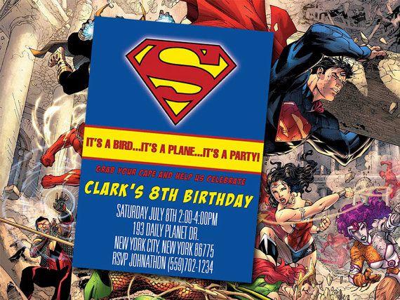 The 13 best Superhero Birthday Party images on Pinterest Birthdays