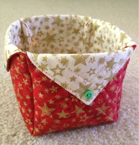 Keizer Quilts: Fabric Box w/ French Seams