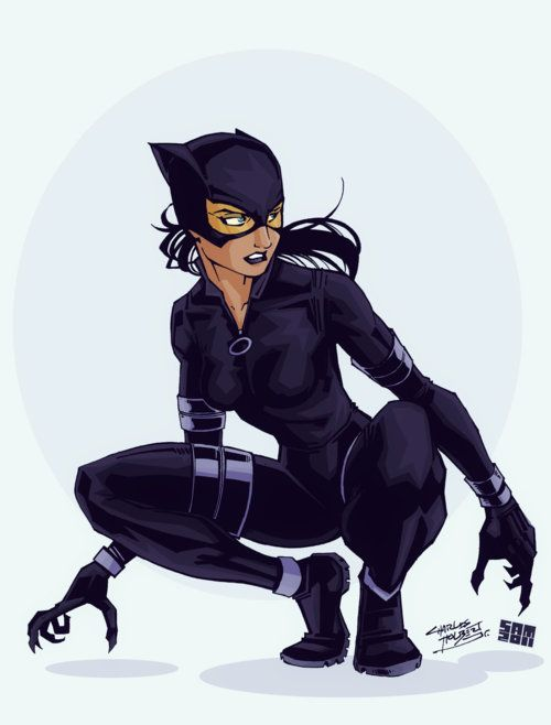 Catwoman    This would look really nice in the new Batman film..!