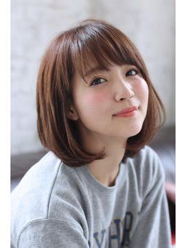 【joemi 】カジュアルボブ×メルトカラー×スポンテニアス大久保 - 24時間いつでもWEB予約OK!ヘアスタイル10万点以上掲載!お気に入りの髪型、人気のヘアスタイルを探すならKirei Style[キレイスタイル]で。