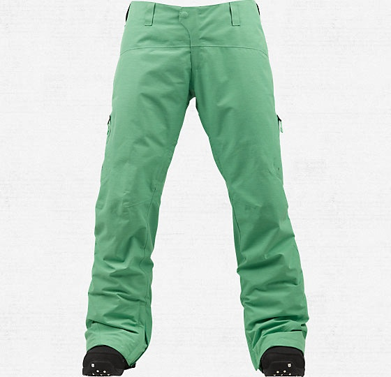 Love mint green! Women's 2L Summit Snowboard Pant - Burton Snowboards