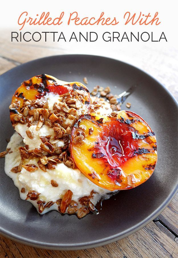 Serve with 1 cup ricotta, ½ cup granola and a generous drizzle of honey. Serves 4.