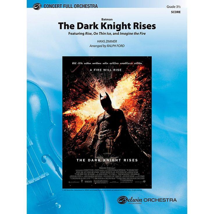 Alfred Batman: The Dark Knight Rises Concert Full Orchestra Grade 3.5