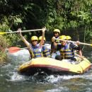 Action on the river during bali rafting trip #balicycling #balirafting #baliraftingandbalicycling #baliactivities #balitour