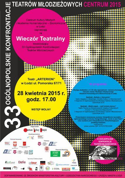 Aktualność - Wieczór Teatralny | Akademia Humanistyczno-Ekonomiczna w Łodzi