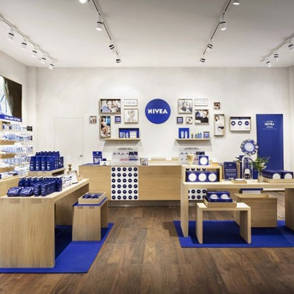 Design showcase: Nivea's new Rome store - Retail Design World