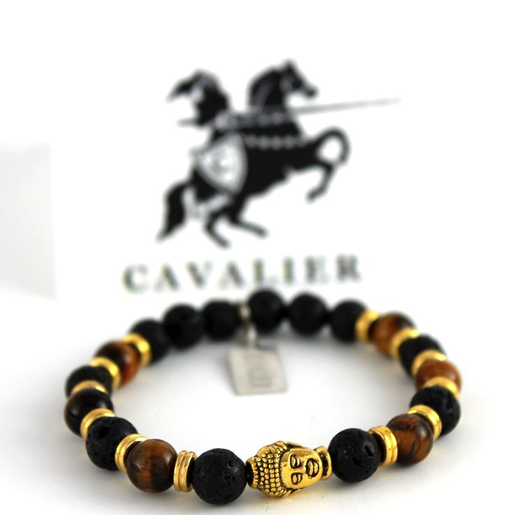Cavalier 18kt Gold Plated Antique Buddha Head www.mycavalier.co