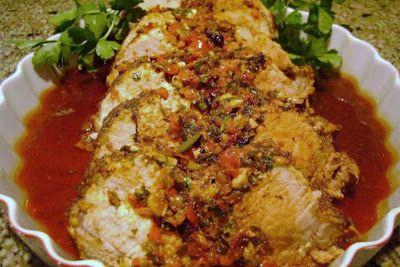 Stuffed Mediterranean Style Boneless Center Cut Pork Roast