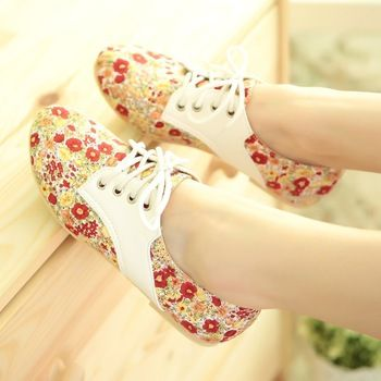 cute floral sneakers
