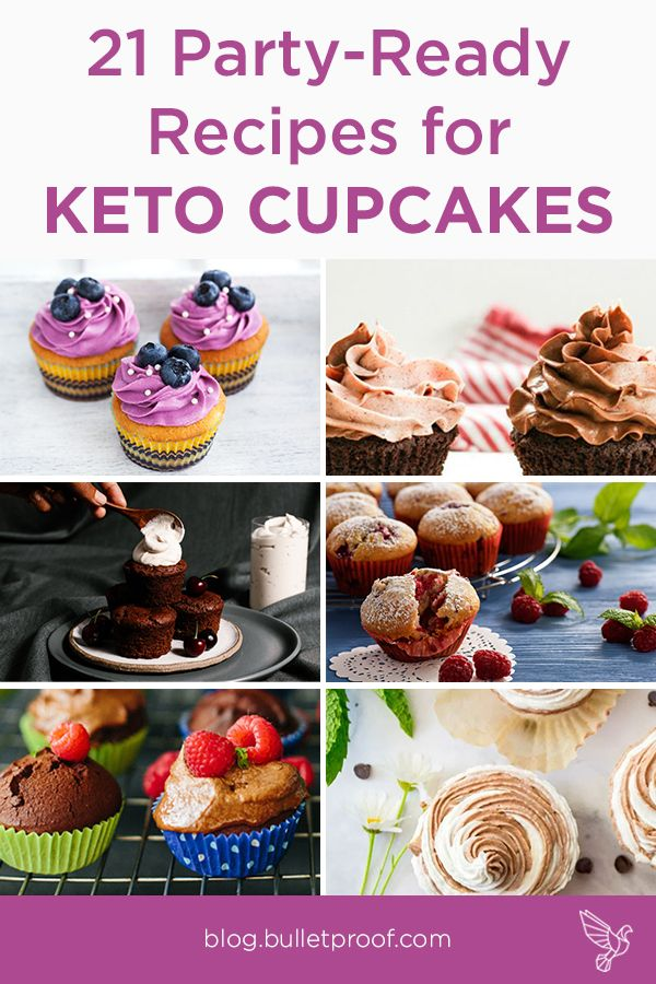 21 Party Ready Recipes For Keto Cupcakes With Images Keto Cupcakes