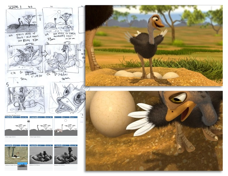 #Storyboard and #layout  for jungle Beat