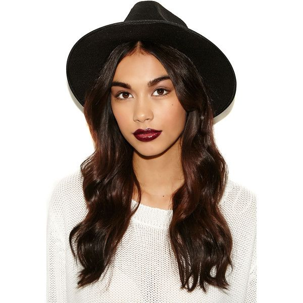 Missguided Alaga Fedora (£20) ❤ liked on Polyvore featuring accessories, hats, hair, cabelos, people, hairstyles, black, black fedora hat, black hat and fedora hat