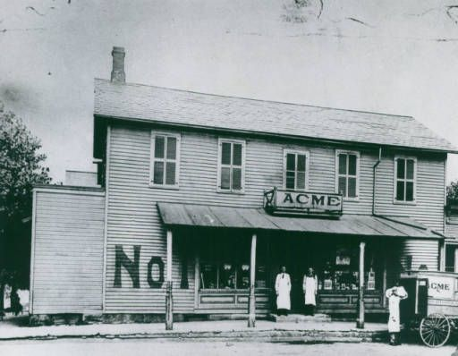 First Acme Store, 1891 :: Akron Beacon Journal Photograph Archives