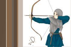 Muslimah by sheepikos on DeviantArt