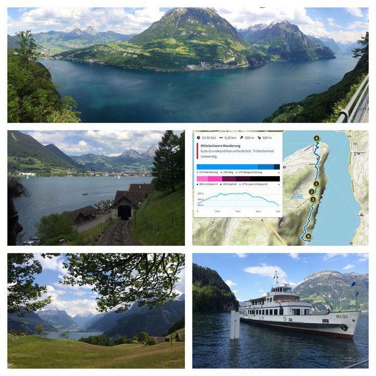 Weg der Schweiz - von Treib nach Bauen (3h 30 min)