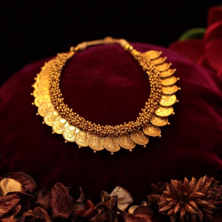 Kaasu Maalai Haar in temple jewellery necklace collection Necklace