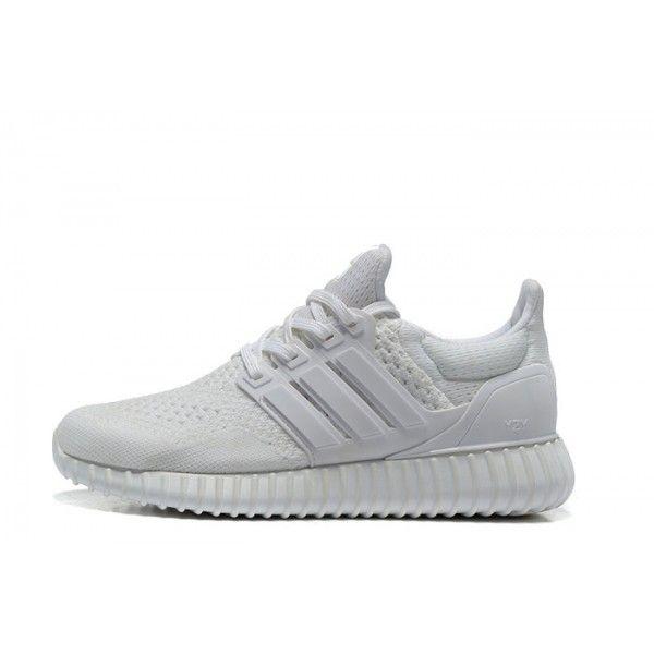 2016 New Adidas Yeezy Ultra Boost Men White