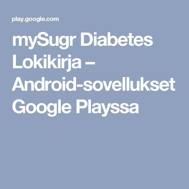 mySugr Diabetes Lokikirja – Android-sovellukset Google Playssa