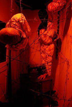DIY barbed wire room