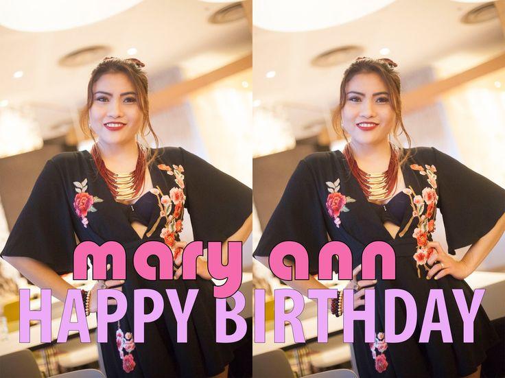 Mary Ann Van Der Horst's Birthday Get Together