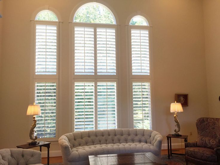 17 Best Images About Arched Plantation Shutters On Pinterest Room Kitchen Window Treatments