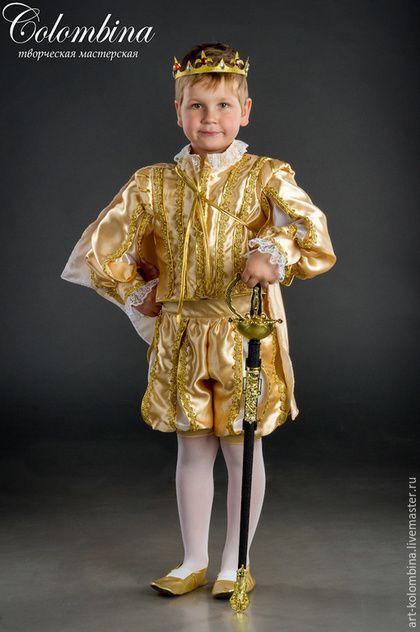 Детские карнавальные костюмы ручной работы. Костюм принца. Olga. Ярмарка Мастеров. Костюм принца купить
