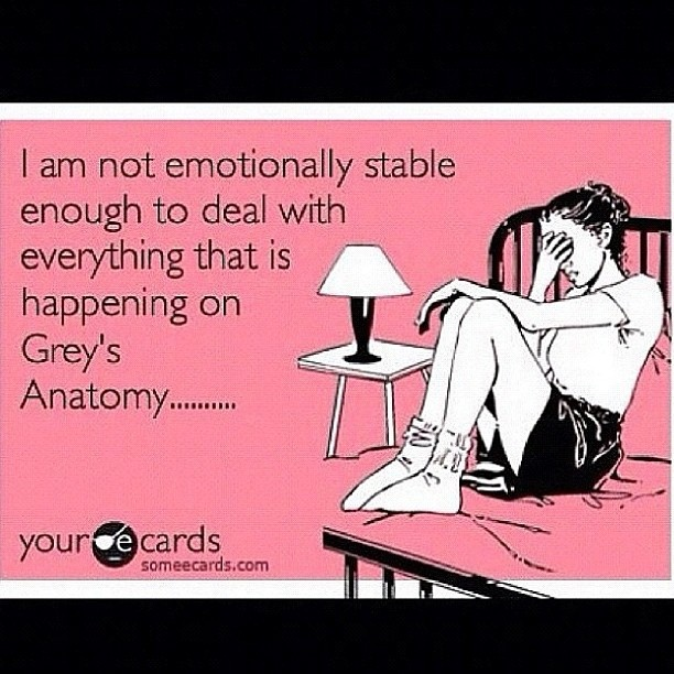 Goodbye Mark Sloan and Lexie Grey.... I'm gonna need some time. :(