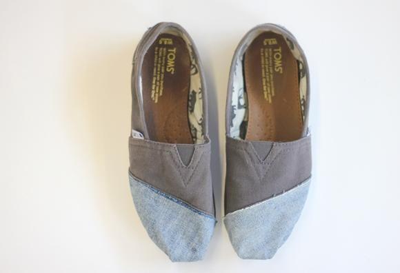 DIY Fix Toms Shoes