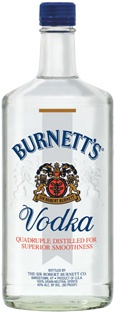 Burnett's Vodka #vodka #burnett's vodka